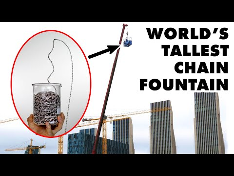 World Record Chain Fountain? The Mould Effect Explained