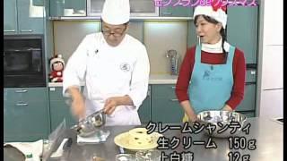 【楽らくクッキング】モンブランdeクリスマス 【Easiness Cooking】Christmas of Mont Blanc