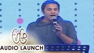 Download Hindi Video Songs - Singer Karthik Stage Performance at A Aa Audio Launch || Nithiin, Samantha