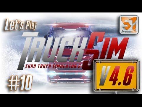 Trucksim-Map 4.6, Lets Play #10  Milano ich komme
