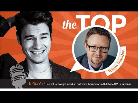 Fastest Growing Canadian Software Company: $200k to $20M in Revenue from 2010 to 2015