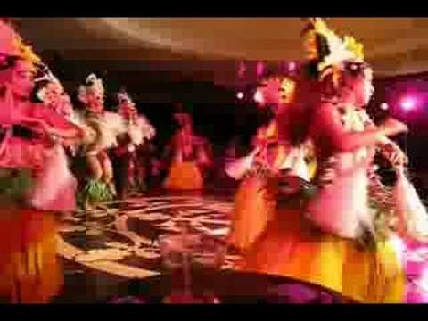 "French Polynesia 1- dance, music. Cruise ""Tahitian Princess"""