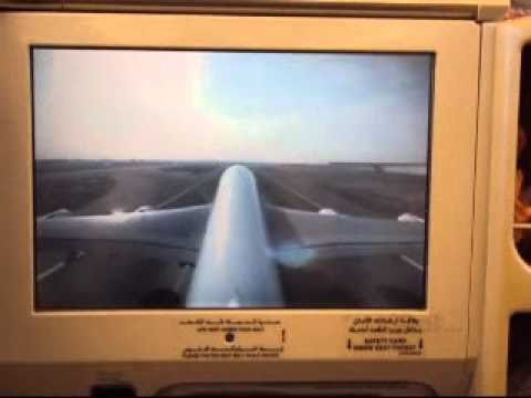 Emirates a380 external camera views youtube - Emirates camera ...