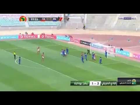 #CAF Confederations Cup# #Club Africa in(Tunisia) vs Rivers United(Nigeria) 3-1 #John Odumegwu Score
