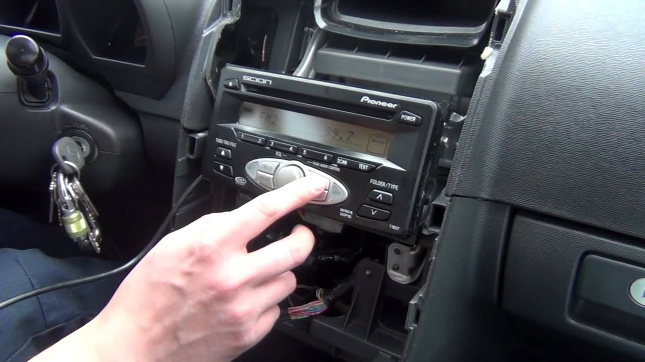 gta car kits scion tc 2005 2010 ipod iphone and aux adapter installation [ 1280 x 720 Pixel ]
