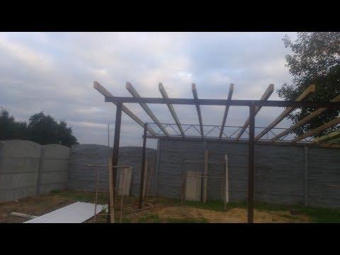 Budowa wiaty 6x8 50m