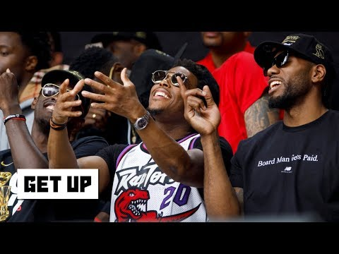Kawhi hanging out with Raptors teammates is a 'good sign' for Toronto - Windhorst | Get Up