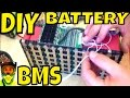 DIY Battery: Wiring BMS + charging/discharging connectors (time lapse) 48v 21Ah Electric Bike 18650