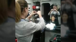 Обучение Химической завивке на курсах парикмахеров в Учебном центре Аста Ла Виста+7(925)744-30-68