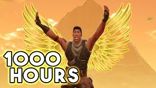 What 1000 HOURS of DEFAULT Experience Looks Like - Fortnite