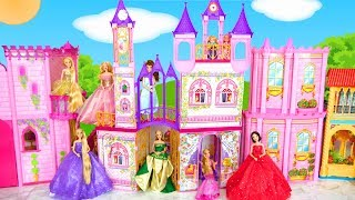 Steffi Love Dream Castle for Barbie Size Dolls Kastil boneka Puppe Schloss دمية القلعة