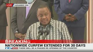 President Uhuru Kenyatta speech on coronavirus, phased re-opening || FULL SPEECH