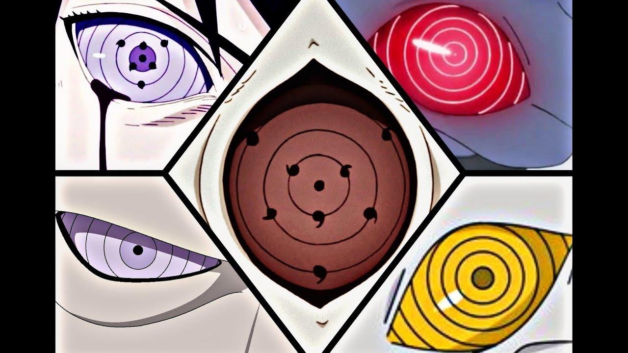 naruto top 10 strongest rinnegan eye users red rinnegan gold