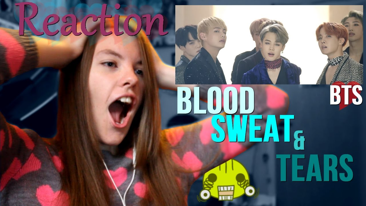 Download Video Reaction To Blood Sweat And Tears - BTS Mp4,Play
