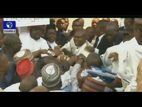 House Fight: Speaker Should Have Addressed APC Caucus Before Proceeding -- 26/06/15 Part 2