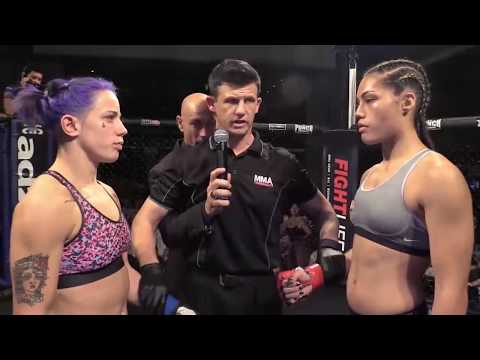 ETERNAL MMA 19 - JESSICA ROSE CLARK VS JANAY HARDING - WMMA FIGHT VIDEO