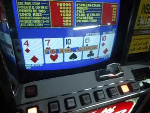 Juegos de maquinita video poker
