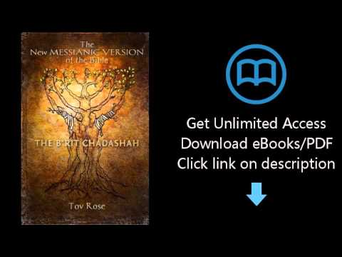 Download The New Messianic Version of the Bible - B'rit Chadashah: The New Testament (Volume 4) PDF