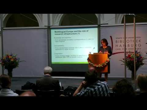 Prof. Dr. Franciska de Jong - CLARIN in Europe - Forum CA3