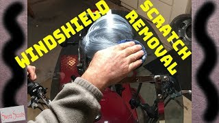 How To Remove Scratches on Motorcycle Windshields & PROTECT THEM FOR LIFE