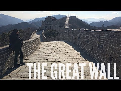 THE GREAT WALL OF CHINA | ASIA TRAVEL VLOG #2
