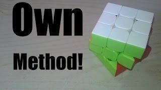 My Own 3x3 Method!