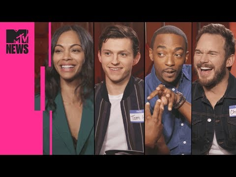 The 'Avengers: Infinity War' Cast Play Marvel Trivia  MTV