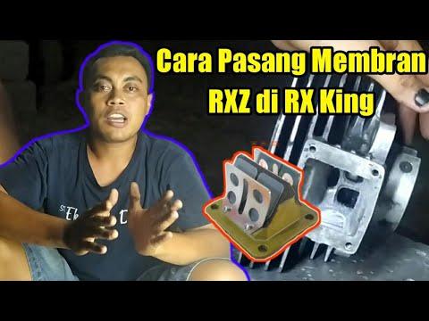 Cara Pasang Membran RXZ di RX KING
