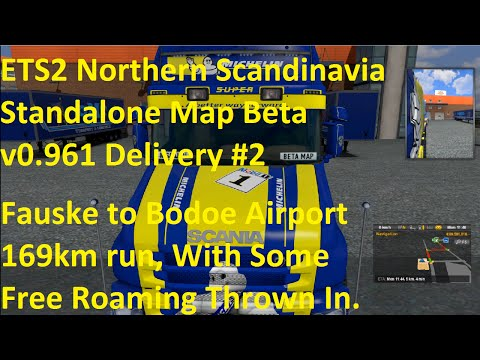 ETS2 Northern Scandinavia Standalone Map Beta v0.961 Delivery #2