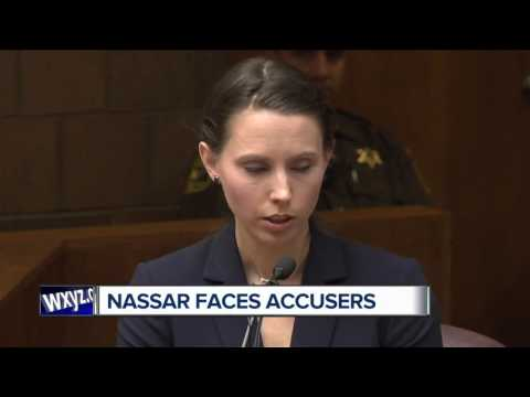 Dr. Larry Nassar faces his accusers