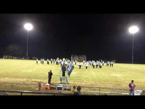 Clinton County High School Bulldog Marching Band: Halftime Show 9/23/2016
