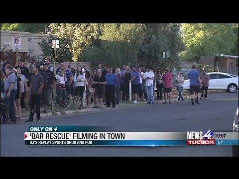 """Episode of """"Bar Rescue"""" filming in Tucson"""