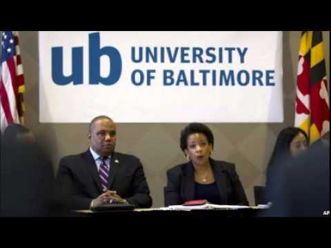 Attorney General Visits Baltimore and Gray