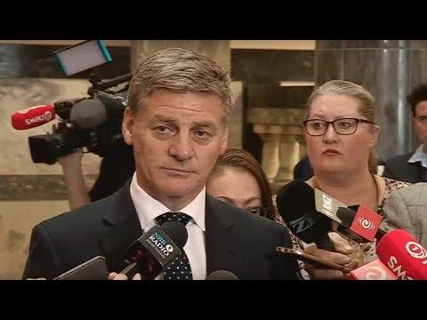 LIVE STREAM: Bill English on Todd Barclay's resignation