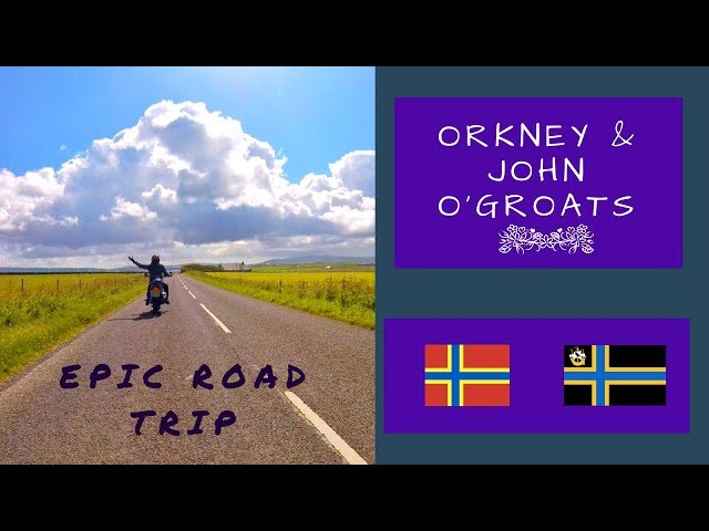 ROAD TRIP | Orkney Islands & John o'Groats | Motorbike Tour Scotland | Wandering Bird Adventures