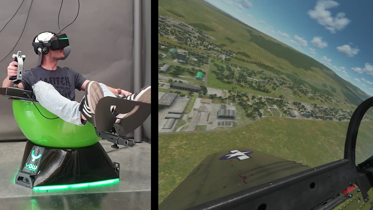 DCS World gameplay - with 360° Aileron Roll