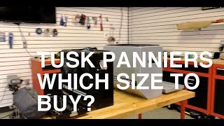 Tusk Panniers Review & Tips