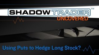 Using Puts to Hedge Long Stock? Really? | ShadowTrader Uncovered