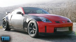 540HP Single Turbo Nissan 350Z HR Review! Boost and Personality