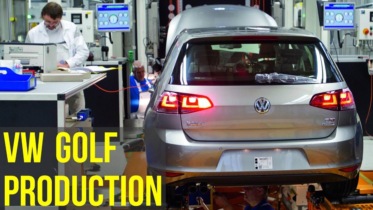 volkswagen golf 7 production youtube. Black Bedroom Furniture Sets. Home Design Ideas