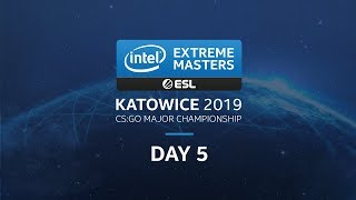 LIVE: G2 vs. TyLoo - IEM Katowice 2019 Challengers Stage - Day 5