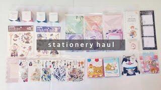 ✨ stationery haul #3
