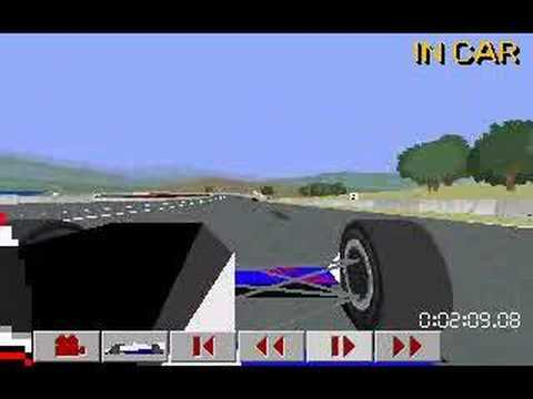 IndyCar Racing DOS  Game Play  YouTube