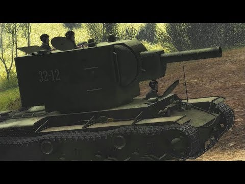 "Steel Fury Kharkov 1942 STA mod ""Leshniv"" Mission KV-2 Tank"