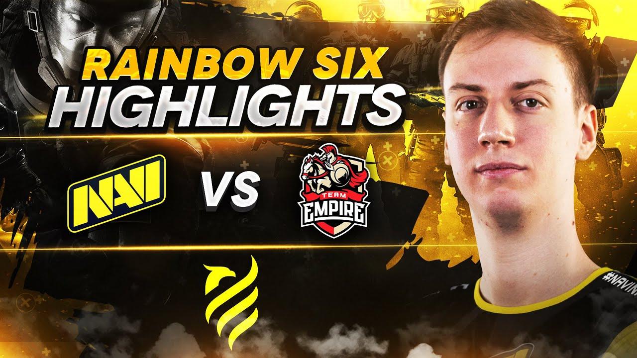 NAVI vs Empire — First Victory at European League S1 (Rainbow Six Highlights)