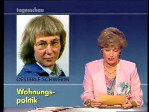 Tagesschau ARD 26.3.1989 Dagmar Berghoff