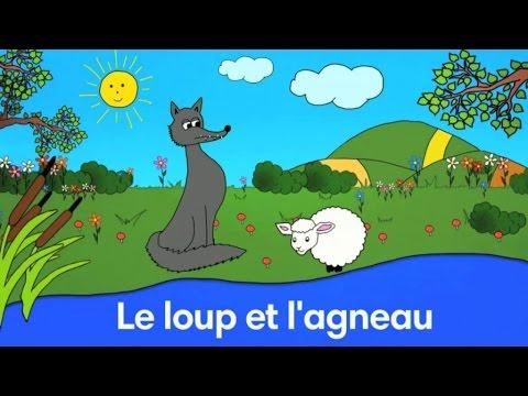 Le Loup Et L Agneau Fable De La Fontaine Par Sidney Oliver