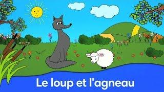 Le Loup et l'Agneau - Fable de La Fontaine - Par Sidney Oliver
