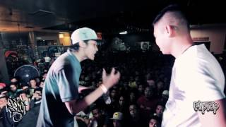 Repeat youtube video FlipTop - Sinio vs Rapido