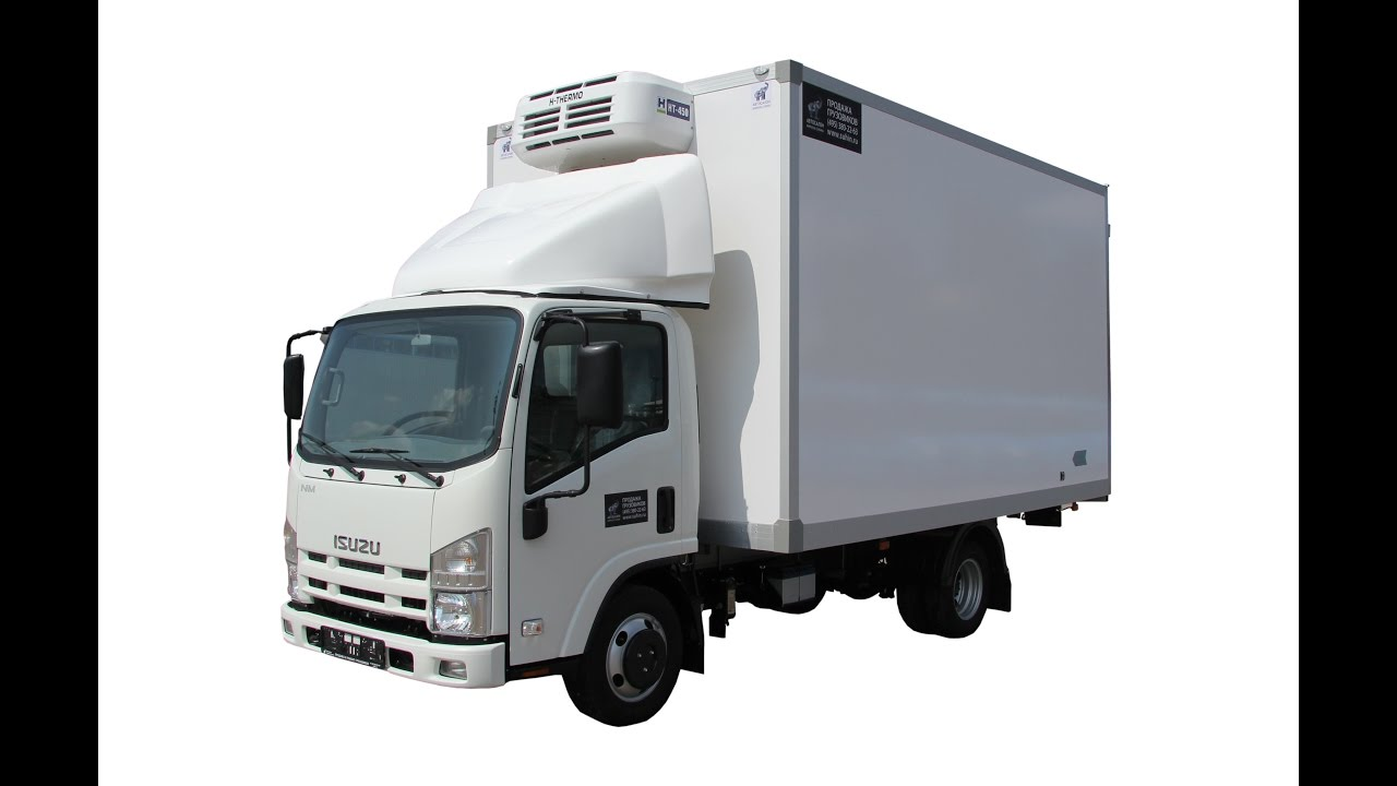 Isuzu NMR85 Рефрижераторный фургон +5С…-10С, фургон 20 м3, 8 европаллет